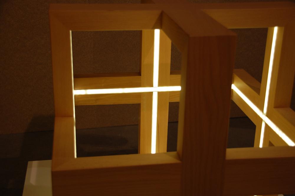 Lluminària creucub de disseny