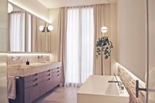 Balada Juan Arquitectura - Casa Barber Amposta - vivienda unifamiliar baño diseño