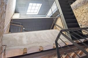 Loft Industrial baladajuan lucernario