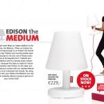 EDISON lampara diseño