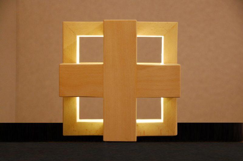 lluminaria de disseny creucub